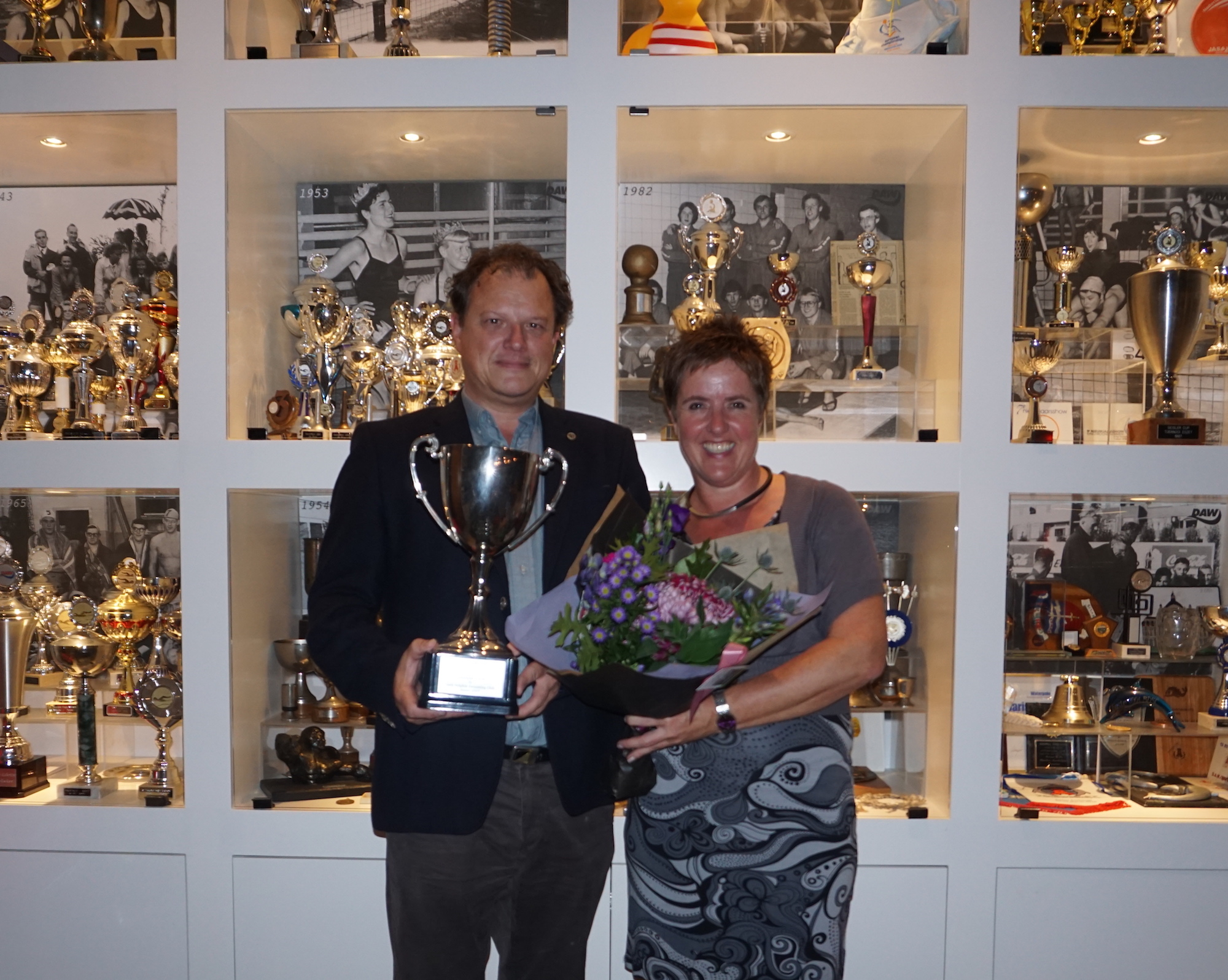 Volunteer of the Year Award voor Edwin de Bruijn en Adrienne Vermooten 001